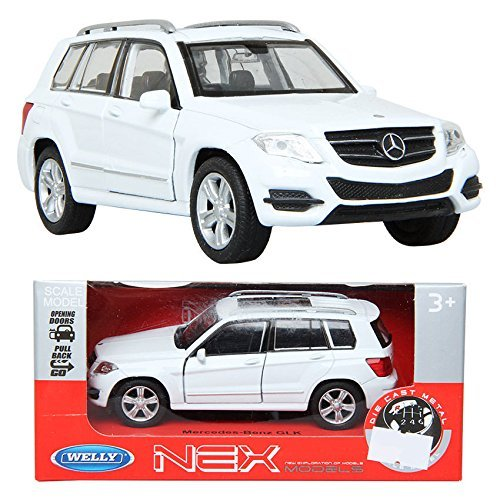 WELLY 1:34 Mercedes-Benz GLK / White / Toy / DIE-CAST Toy Model cars