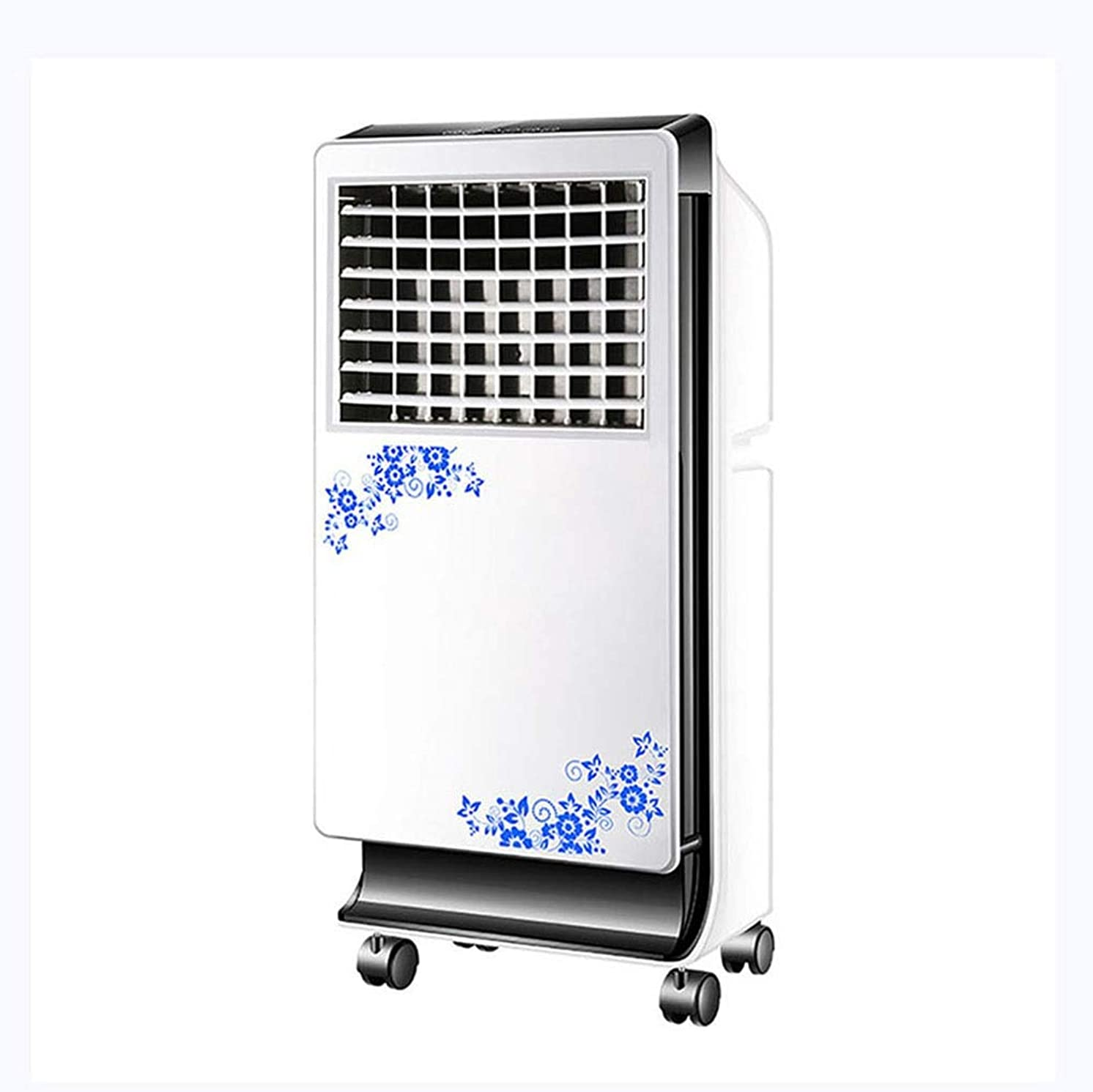 Portable Ac Window Evaporative Air Conditioner Small Standing Cooling Fan Air Conditioner Fan Personal Space Quiet Energy Efficient Air Cooler Air Humidifier Purifier Remote ControlTime Settings