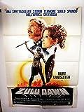 Manifiesto 2 piezas - Zulo Dawn - Douglas Hickox - Burt Lancaster