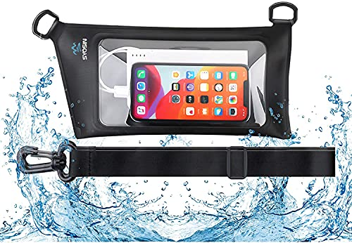 SYOSIN Waterproof Fanny Pack Pouch, Waterproof Waist Bag with Adjustable Waist Strap,Screen Touch...