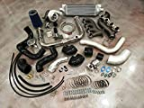 Complete Turbo Kit Silverado Sierra Turbocharger Vortec V8 LS 4.8 5.3 6.0 6.2 FITS 2WD & 4x4 Trucks & SUVs