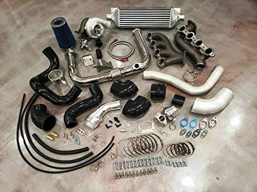 Complete Turbo Kit Silverado Sierra Turbocharger Vortec V8 LS 4.8 5.3 6.0 6.2 FITS 2WD & 4x4 Trucks & SUVs