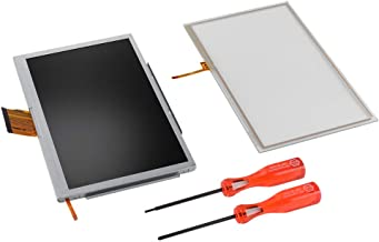 XCSOURCE Replacement LCD Screen + Touchscreen Digitizer + Screwdriver Tools Kit Repair Tool for Nintendo Wii U Gamepad AC1512