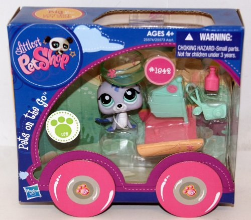 Littlest Pet Shop - Pets on the Go - #1842 Robbe...