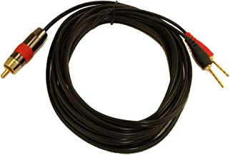 Best speaker wire to subwoofer cable adapter Reviews