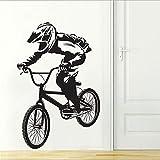 stickers muraux macaron Hot Pour Enfants Chambres Décor Vélo BMX Citations Autocollant De Chambre Collant