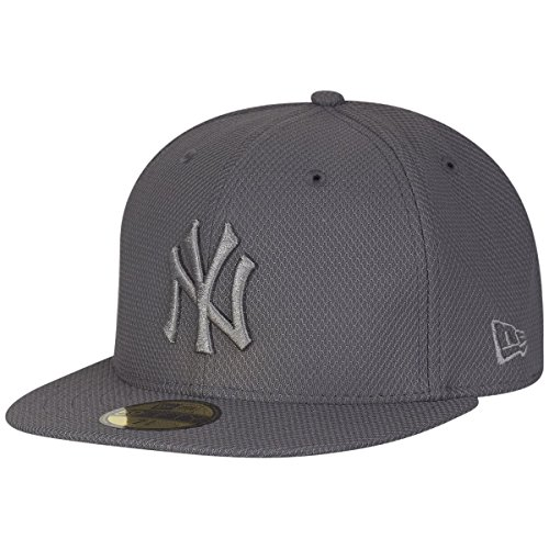 New Era Diamond Era 59Fifty Cap NY Yankees Dunkelgrau, Size:7 1/4