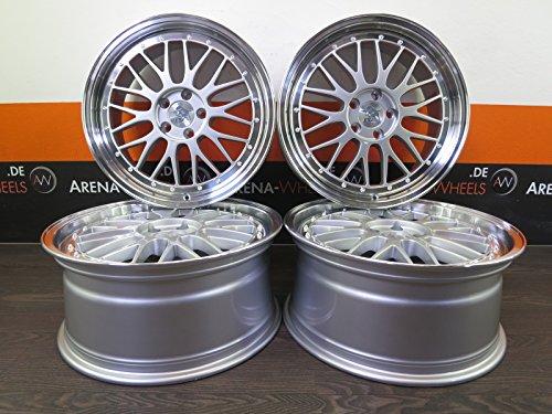 Ultra Wheels UA3-LM - Llantas de aleación (4 unidades, 18 pulgadas, para -LM -LM LM C70 S40 S60 S80 V40 V50 V60 V70 XC60 XC70 Ultra)