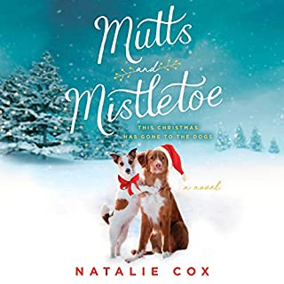 Mutts and Mistletoe audiobook cover art