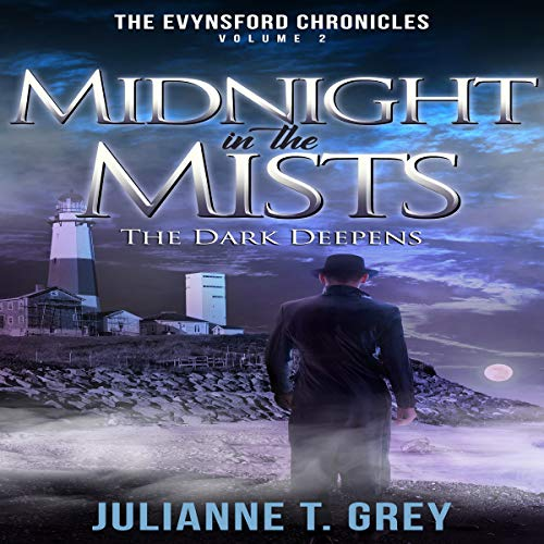Midnight in the Mists - The Dark Deepens audiobook cover art