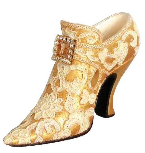 miniature chaussure chambord jaune 7cm