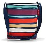 reisenthel shoulderbag S 29 x 28,5 x 7,5 cm / 4,7 l / artist stripes