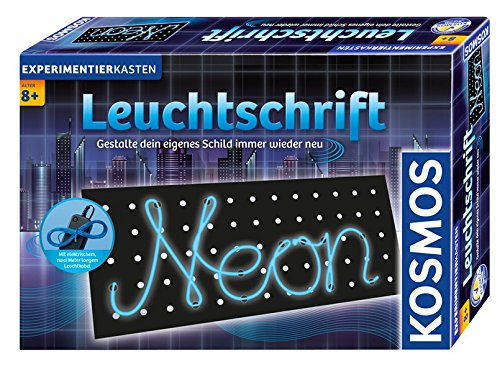 Kosmos 613105 - Scritte luminose, Gioco di esperimenti [lingua tedesca]