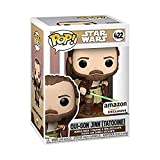 Funko Pop! Star Wars: Adventures Across The Galaxy - Qui-Gon Jinn (Tatooine), Amazon Exclusive Vinyl Collectible Figure
