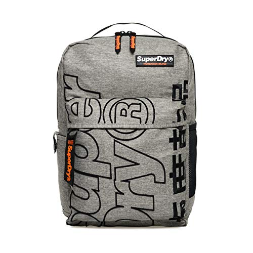 Superdry Academic Backpack - Light Grey Marl