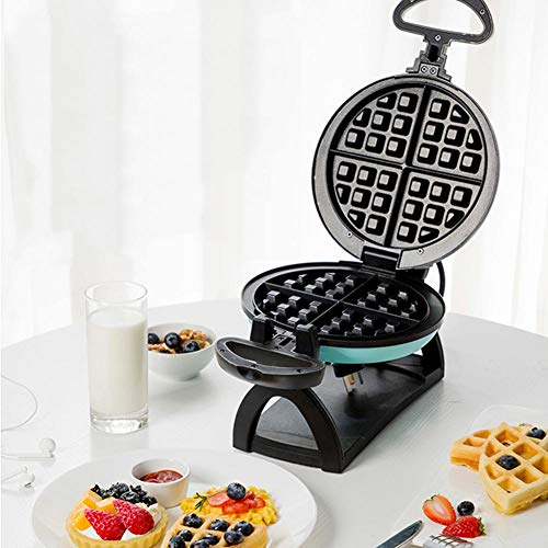 JZH-kitchen Máquina para Hacer Gofres Diseño Rotativo Mini Eléctrico Pastelero Recubrimiento Antiadherente...