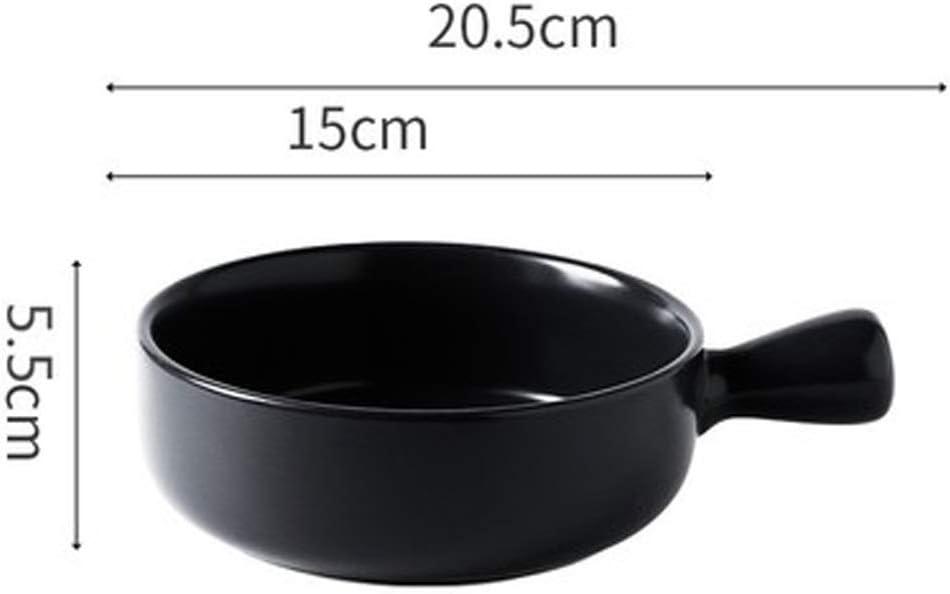 SHYOD Pot À Soupe en Porcelaine, Pot De Vaisselle, Pot À Spaghetti, Poignée De Vaisselle, Pot De Soupe en Poudre (Color : B) A