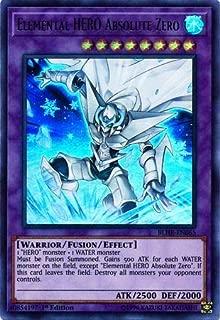 Yu-Gi-Oh! - Elemental Hero Absolute Zero - BLHR-EN065 - Ultra Rare - 1st Edition - Battles of Legend: Hero's Revenge