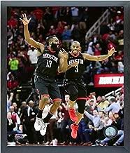 James Harden & Chris Paul Houston Rockets 2017-2018 NBA Action Photo (Size: 12