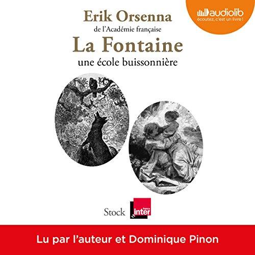 La Fontaine, une école buissonnière audiobook cover art