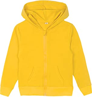 Youth Solid Classic Hoodies Soft Hooded Sweatshirts for Children (3-12 Years)