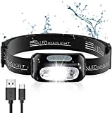 Best Running Headlamps - Babacom Head Torch, Rechargeable Super Bright LED Headlamp Review