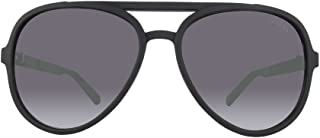 Guess Men's Gradient GF0150-02C-60 Black Oval Sunglasses