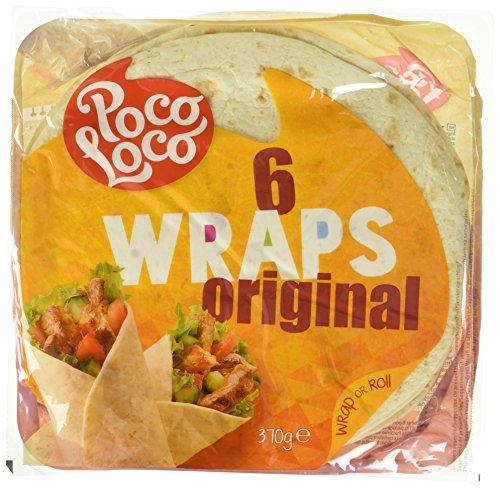Poco Loco 6 Wraps, 7er Pack (7 x 370 g)