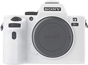 Sony A7II Camera Case, Professional Silicone Rubber Camera Case Cover Detachable Protective for Sony A7II A7SII A7RII A7MII (White)