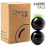 myHodo Stresskiller Magnetkugeln XXL Magnetic Balls, extra große Kugelmagnete 33mm, Technik Büro...