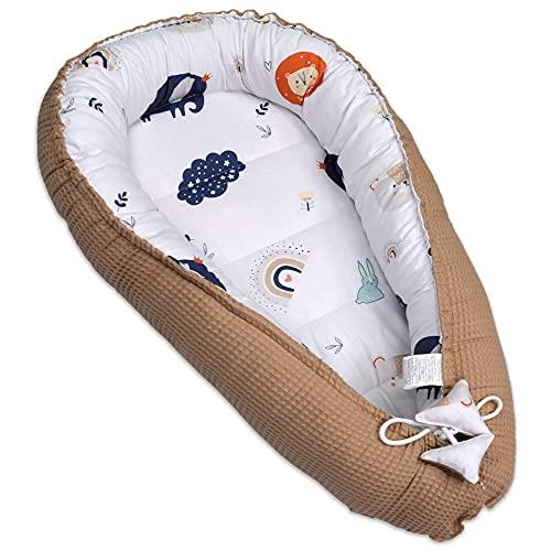nido bebe recien nacido - reductor de cuna nidos para bebes cojin colecho