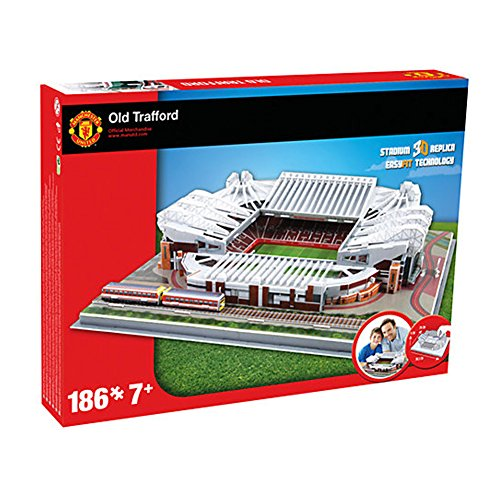 New United Football Old Trafford Stadium Replica Fun Home Ground 3D Puzzle Game