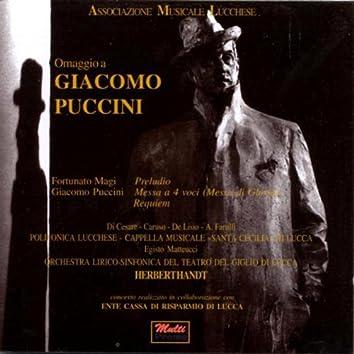 Omaggio A Giacomo Puccini