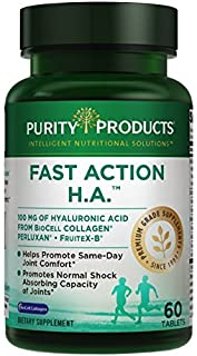 Fast Action H.A. Hyaluronic Acid Super Formula from Purity Products,60 Tablets