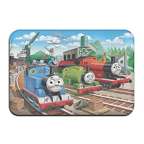 Large Puzzle Thomas And Friends Thomas - Felpudo antideslizante para puerta de bienvenida