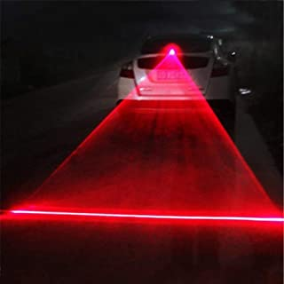 Sizet Universal Car and Motorcycle Rear-end Alarm Laser Fog Taillight Anti-Collision Warning Lamp