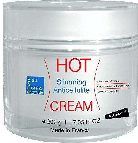 HOT CREAM Crema Anticellulite Termo Attiva Riducente con Alghe Marine e Caffeina 200 ml