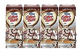 NESTLE COFFEE-MATE Coffee Creamer, Cafe Mocha, liquid creamer singles, 50 Count (Pack of 4)