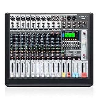 scheda tbaobei-baby controller dj intelligente 12-channel power mixer con bluetooth ktv stage performance attrezzature congressi pre-livello di scheda sd/effetti digitali supporto usb