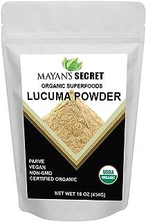 Mayan's Secret Certified Organic Lucuma Powder, 16 Ounce