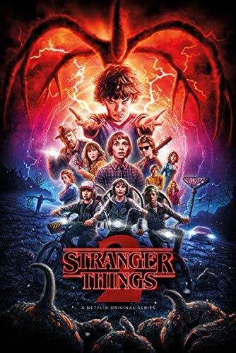 1art1 Stranger Things Poster - Bande Annonce, Saison 2 (91 x 61 cm)