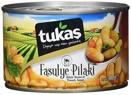 TUKAS weiße Bohnen in Tomaten Sauce, 6er Pack (6 x 400 g)