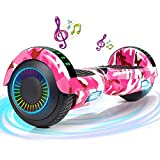 FLYING-ANT Hoverboard, 6.5 Inch Self Balancing Hoverboards with LED Lights, Hover Board for Kids Teenagers