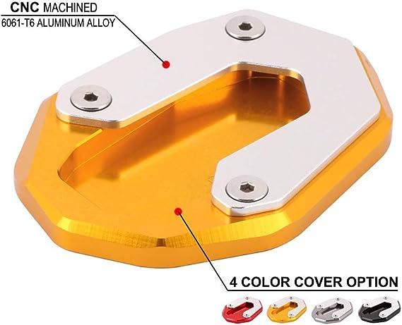 An Xin Cnc Motorrad Seitenständer Ständer Erweiterung Fußplatte Pad Für Ducati Scrambler Sixty2 800 Classic Icon Auto