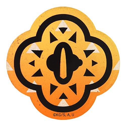 グルマンディーズ バンダイ 鬼滅の刃 キャラスタムステッカー 我妻 善逸(あがつま ぜんいつ) KMY-09B オレンジ