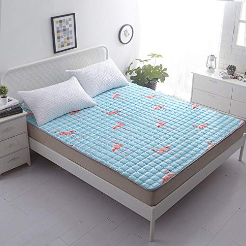 zlzty Krabbeldecke für Kinder, Tatami-Matratze, Bequeme, tragbare Matratze, Bodenmatte, Klappmatte, Lazy Bed, Matratze für Studentenwohnheime @ C_150 * 200cm