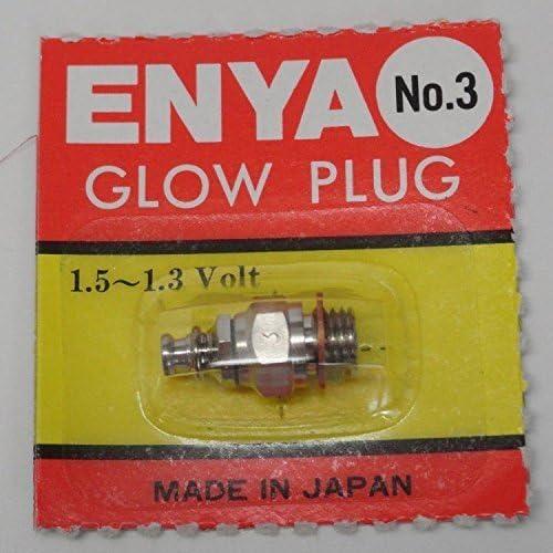 Enya  3 Hot Heat Nitro Glow Plug - For Radio Control Engine by ENYA