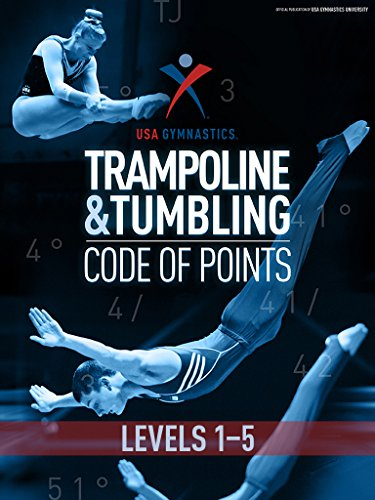 USA Gymnastics T&T Code of Points: Levels 1-5 (English Edition)