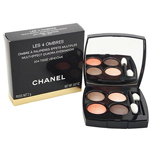 Chanel Les 4 Ombres De Unisex, No. 204 Vendôme, Lidschatten, 1er Pack (1 x 69 ml)