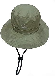 Wenergy防水帽子 サファリハット メンズ 防水透湿 レインハット 梅雨対策 UVカット 折りたたみ 大きいサイズ 紫外線対策 軽量 アウトドア 登山 釣り